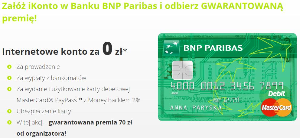 iKonto BNP Paribas z premią 70 zł_opinie-cover