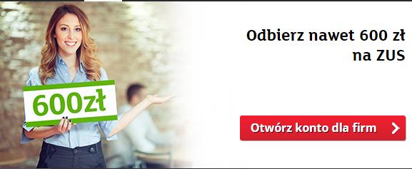 mKonto Biznes Start Komfort 600 zlotych
