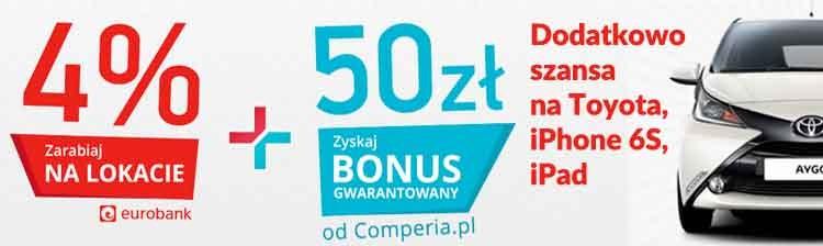 Euro Bank konto i lokata - Comperia Bonus na dobry start