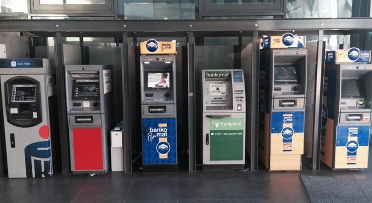 bankomaty w Poznaniu dworzec