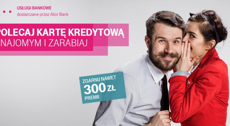 karta kredytowa T-mobile z premią